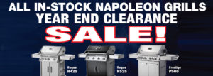 Napoleon Barbecue Clearance