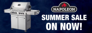 Summer Sale on Barbeques from Napoleon