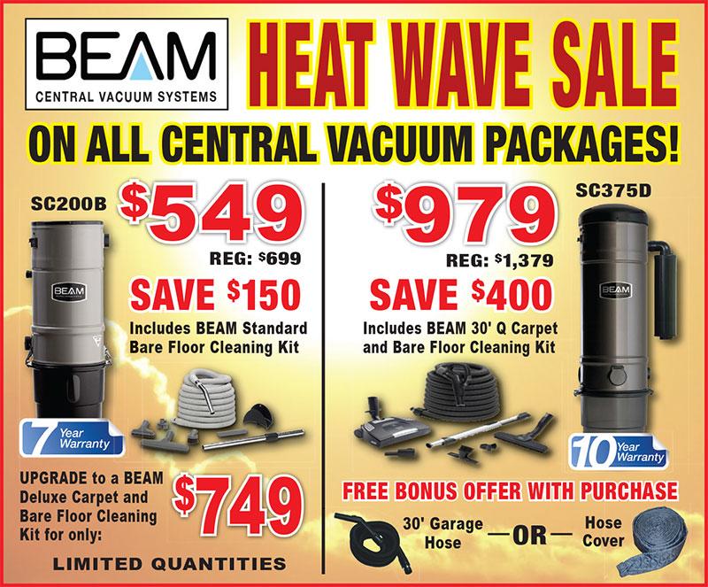Heat Wave Sale for Beam Brampton GP Services