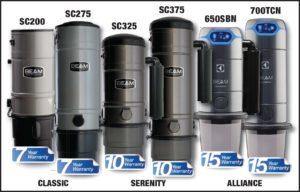 Beam Vacuum Lineup